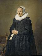 Frans Hals Feyna van Steenkiste Wife of Lucas de Clercq oil painting on canvas