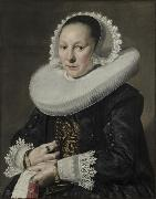 Frans Hals Portrait of a woman oil painting reproduction