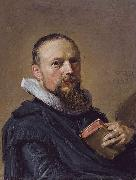 Frans Hals Samuel Ampzing oil painting on canvas