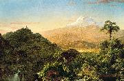 Frederick Edwin Church South American landscape oil painting reproduction