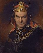 Bogumil Dawison as Richard III, Friedrich von Amerling