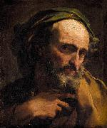 Gandolfi,Gaetano Study of a Bearded Man oil painting artist