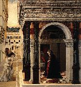 The Annunciation, Gentile Bellini
