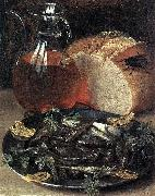 Still-Life with Fish, Georg Flegel