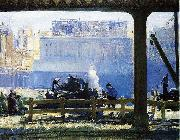 Blue Morning, George Wesley Bellows