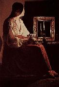 Georges de La Tour Bubende Maria Magdalena oil painting reproduction