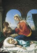 Gerhard Wilhelm von Reutern The Holy Family oil painting reproduction