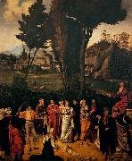 The Judgment of Solomon, Giorgione