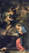 Giovanni Battista Pittoni Annunciation oil painting artist