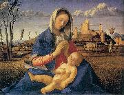 Giovanni Bellini Madonna of the Meadow oil painting reproduction