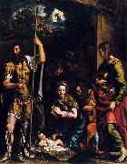 Giulio Romano The Adoration of the Shepherds oil painting