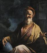 Giuseppe Antonio Petrini Laughing Democritus. oil painting reproduction