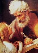 Guido Reni St Matthew and the angel oil painting reproduction