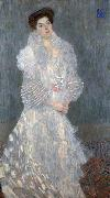 Portrait of Hermine Gallia, Gustav Klimt