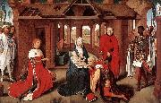 Hans Memling The Adoration of the Magi oil painting reproduction