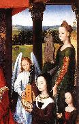 Hans Memling The Donne Triptych oil painting on canvas