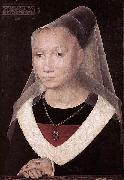 Hans Memling Portrait of a Young Woman oil painting reproduction