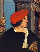Portrait of Jakob Meyer zum Hasen., Hans holbein the younger