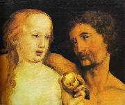 Adam and Eve, Hans holbein the younger