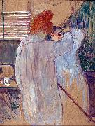 Two Women in Nightgowns