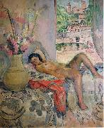 Nude portrait by Henri Lebasque, oil on canvas. Courtesy of The Athenaeum