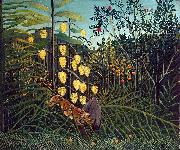 Struggle between Tiger and Bull, Henri Rousseau