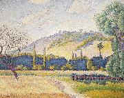 Henri-Edmond Cross Landscape oil painting reproduction