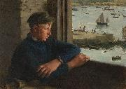 Henry Scott Tuke The Look Out oil painting reproduction