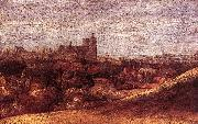 Hercules Seghers View of Brussels from the North-East oil painting on canvas