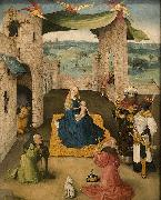 Hieronymus Bosch The Adoration of the Magi oil painting reproduction