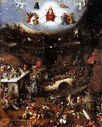Hieronymus Bosch The last judgement oil painting reproduction