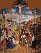 Hugo van der Goes Calvary Triptych oil painting reproduction