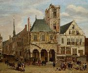 The old town hall, Jacob van der Ulft