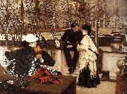 The Captain and the Mate, James Jacques Joseph Tissot