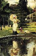 In an English Garden, James Tissot