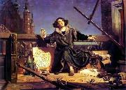 Astronomer Copernicus, conversation with God., Jan Matejko