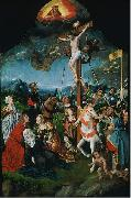 Jan Mostaert The Crucifixion oil painting reproduction