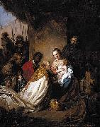 Jan de Bray The Adoration of the Magi oil painting reproduction