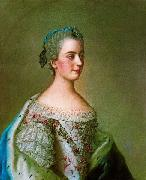 Portrait of Isabella of Parma, Jean-Etienne Liotard