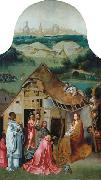 Jheronimus Bosch The Adoration of the Magi oil painting reproduction