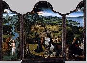 Joachim Patinir Triptych oil painting reproduction