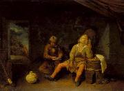 Joos van Craesbeeck Smokers oil painting reproduction
