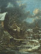 Klaes Molenaer Winter landscape oil painting reproduction