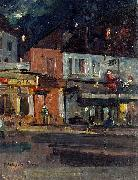 Moon Night, Paris, Konstantin Alekseevich Korovin