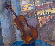 Kuzma Sergeevich Petrov-Vodkin A Violin oil painting