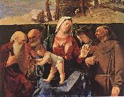 Madonna and Child with Saints, Lorenzo Lotto