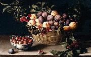 Still-Life with a Basket of Fruit, Louise Moillon