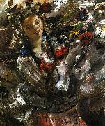 Lovis Corinth Flora oil painting reproduction