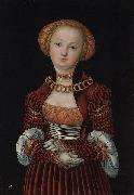 Lucas Cranach Portrait of a Woman oil painting reproduction