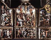 Maarten van Heemskerck Triptych oil painting reproduction